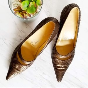 Salvatore Ferragamo Snakeskin Shoes